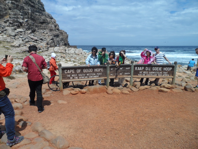 Cape Of Good Hope popular with tourists