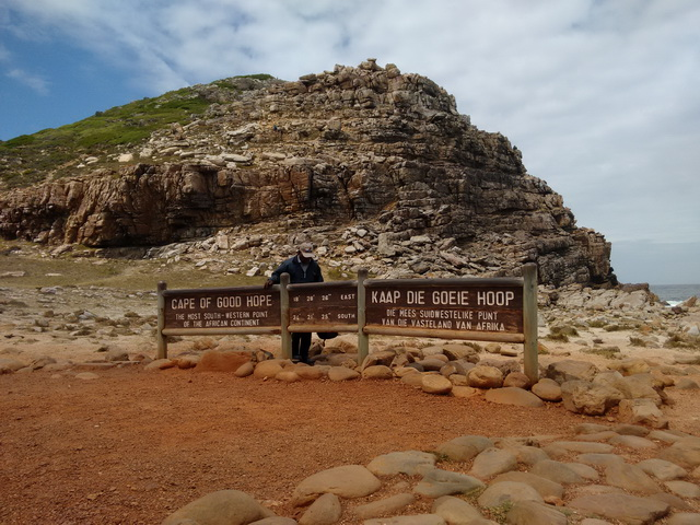 Cape Of Good Hope most SW point on African continent